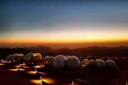 Bubble Suite King - Bubble Luxotel Petra