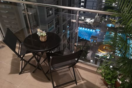 Melaka Homestay with Pool View+Wifi@Urban Cottage