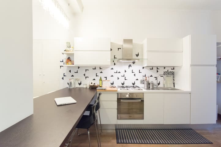 NEW COZY CENTRAL APARTMENT - Turin - Appartement