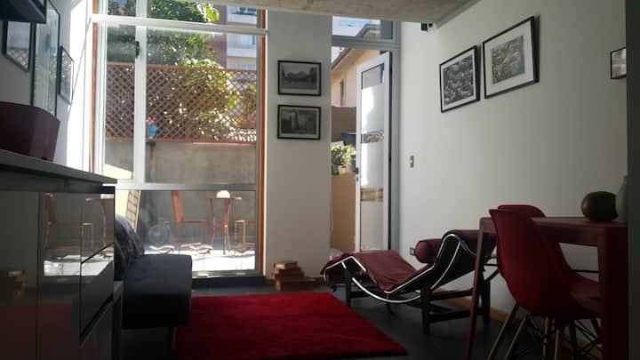 Duplex in Alegre hill, Valparaíso