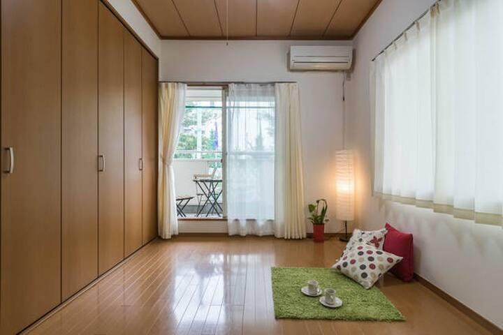[Room-S] Just a 15 min.by train to Sinagawa&Sibuya