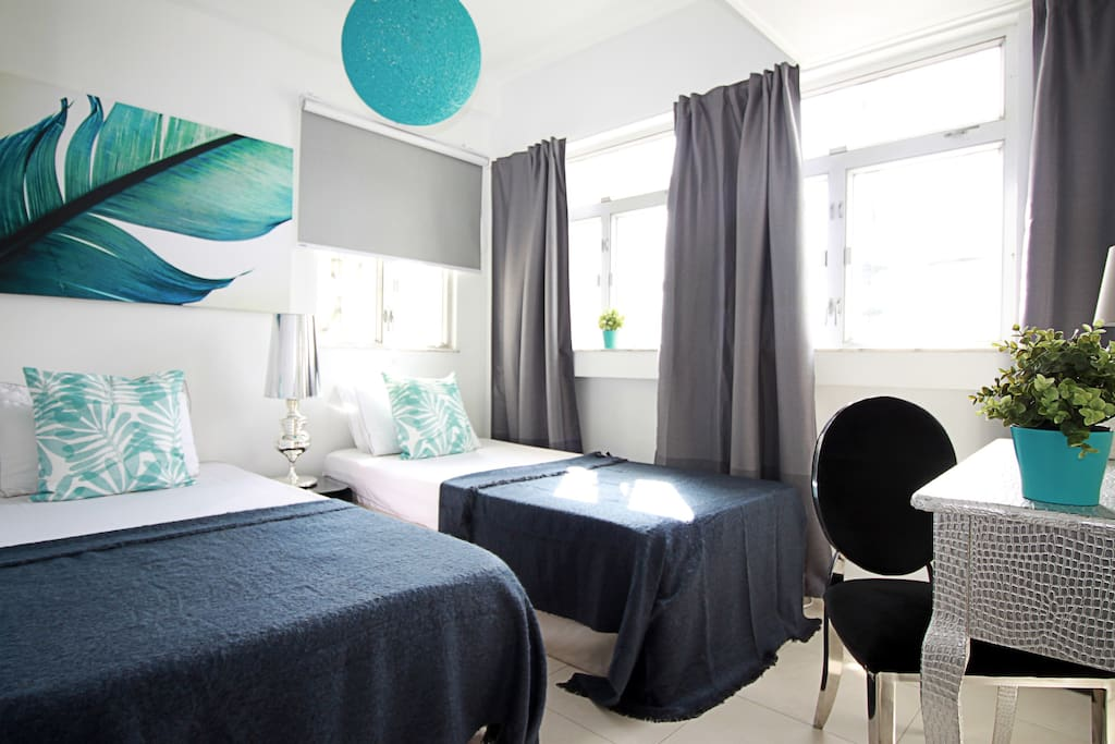Third bedroom with 2 single beds