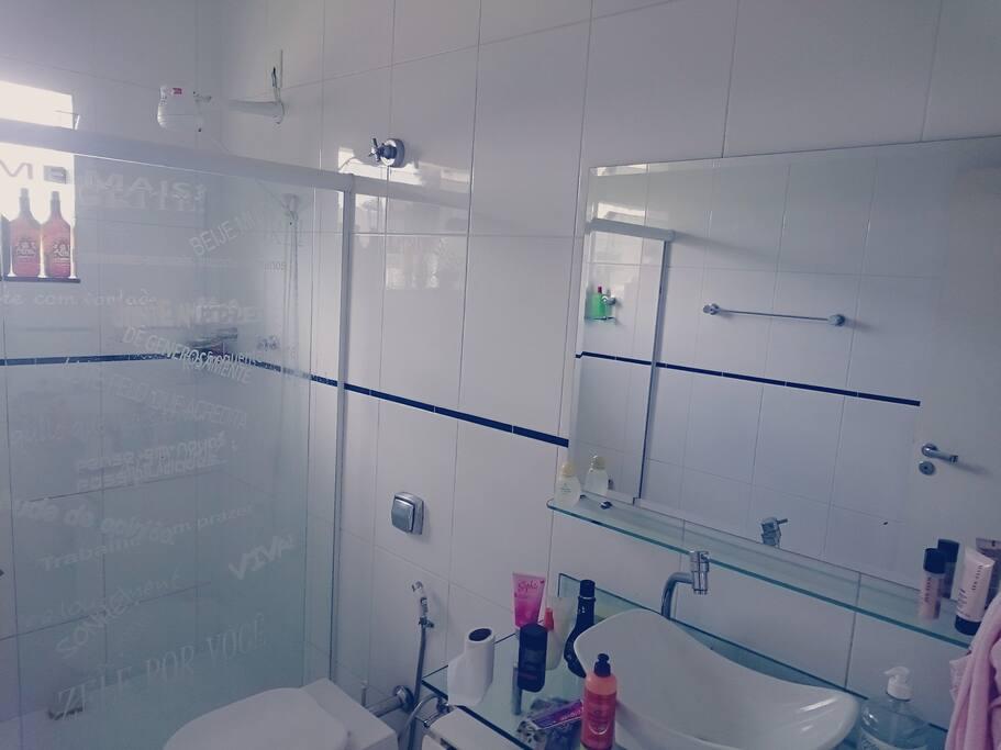 Banheiro grande