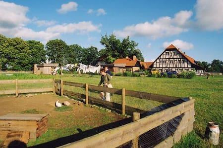 Ecological adventurous farm - Stolpe auf Usedom - Haus
