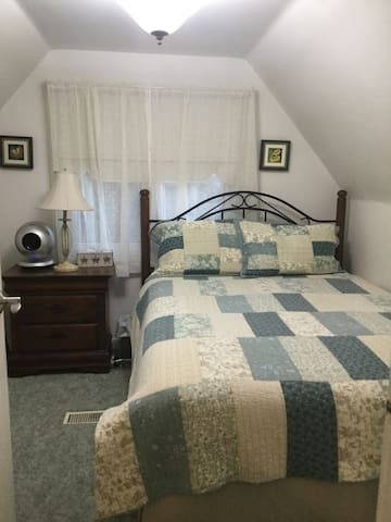 Guest bedroom only available with two bedroom rental
