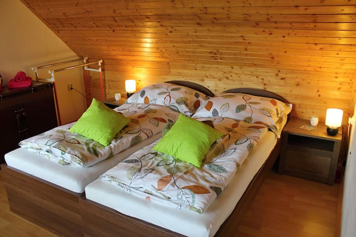 TheBee Farm´s a house with accommodation and sauna