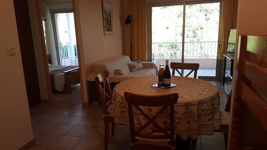 """Appartement """"Pins parasol"""" villa la Lézardière"""