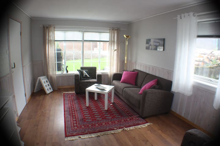 Cozy apartment, close to the fjord. - Vatne - Apartament