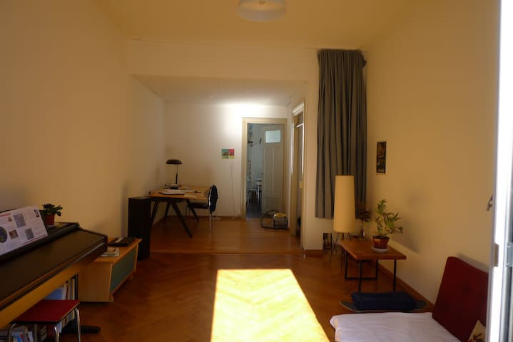 Charming, sunny apartment right next to Basel SBB