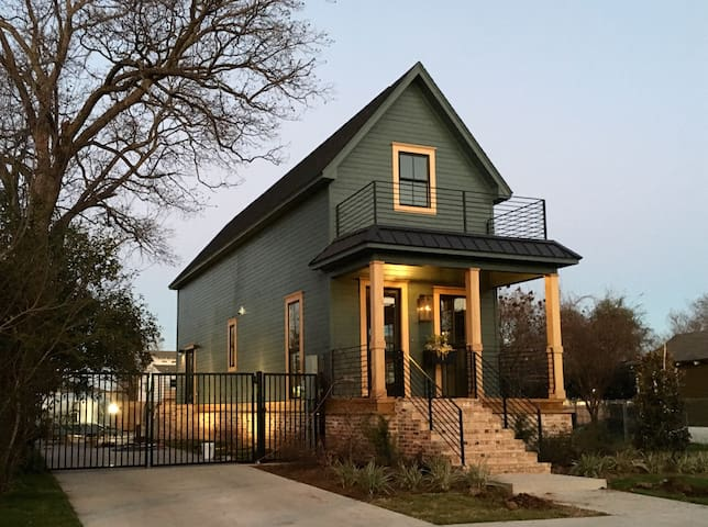 Shotgun House - Waco - Ház