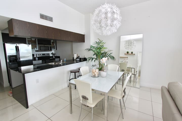 MOST up to date photos - clean an modern dining area