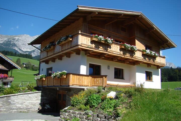 Gartenblick in Niederachen