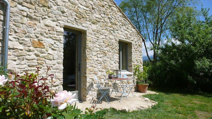 Chambre d'hotes, Vesc, Drôme,ontbijt&entrée privé. - Vesc - Huis
