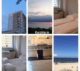 Tolle Wohnung direkt am Strand - Międzyzdroje - Apartamento