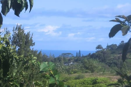 Treehouse Cottage w/Private Entrance & Ocean View - Maui County - Cabaña