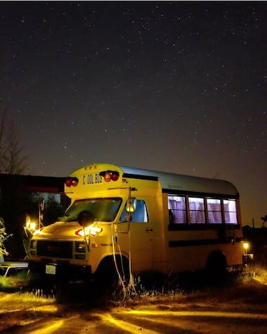One-of-a-kind Converted School Bus Monterey County