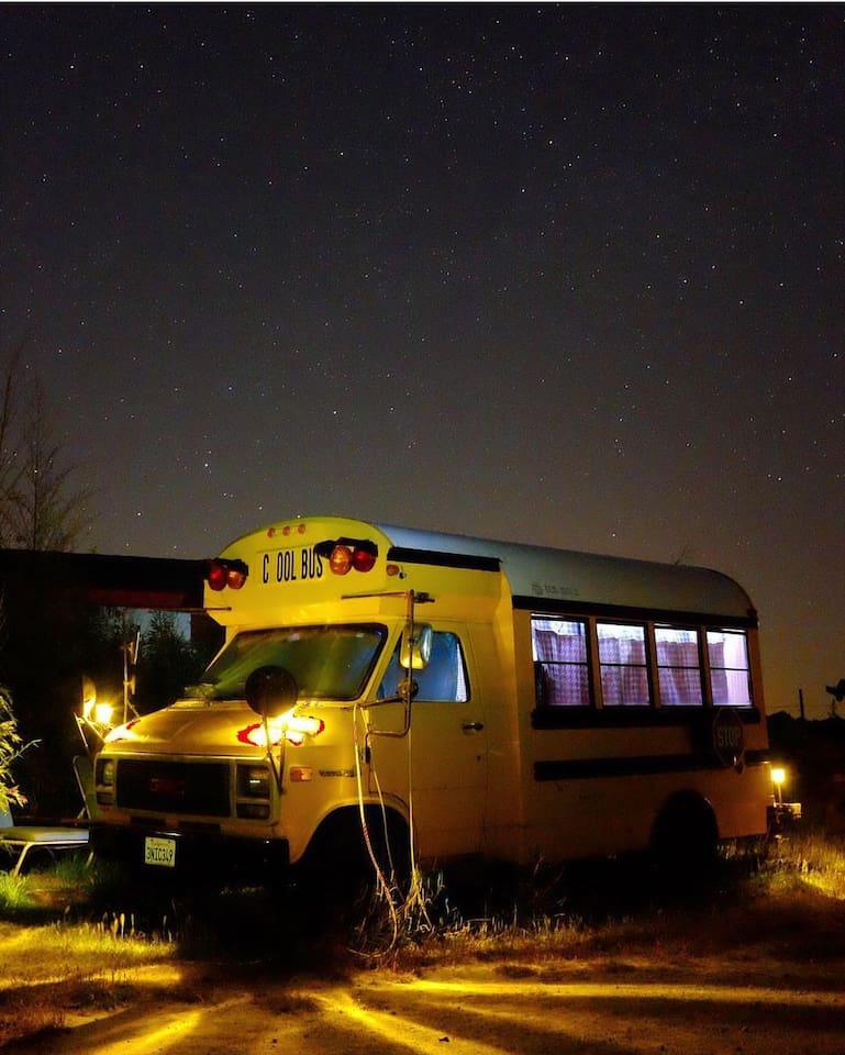One-of-a-kind Converted School Bus Monterey County - Autobuses en ...