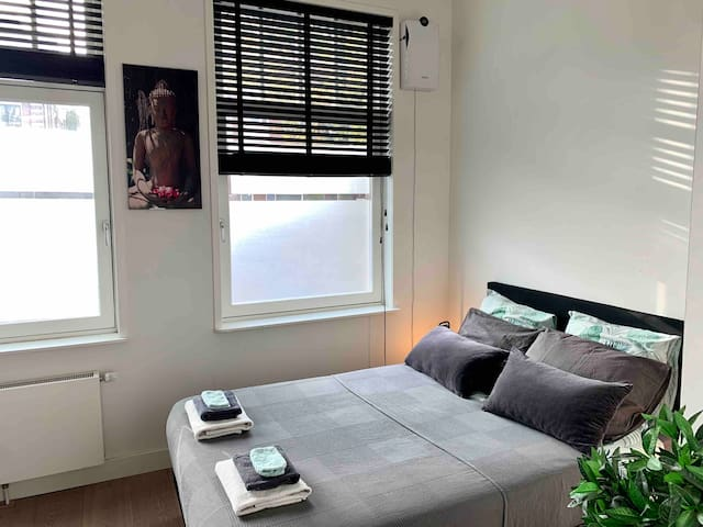 Spacious room close to the city and vondelpark!
