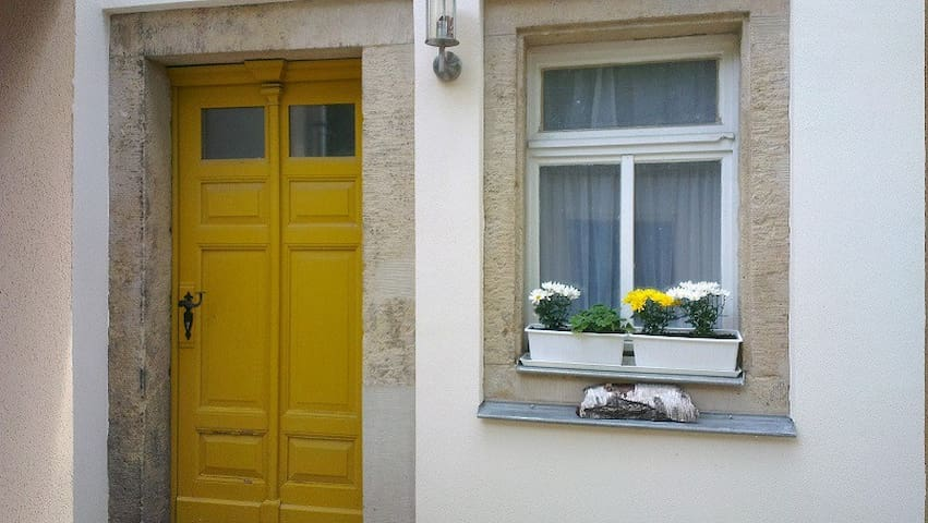gemütliche Wohnung zentral und verkehrsgünstig - Freital - Casa de vacaciones
