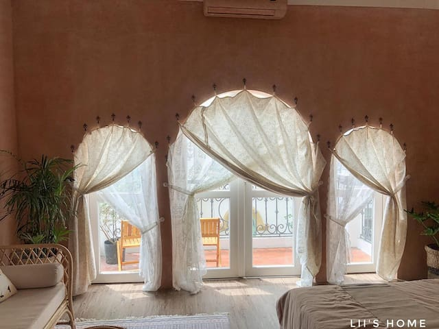 Phòng Moroccan - Lii's homestay