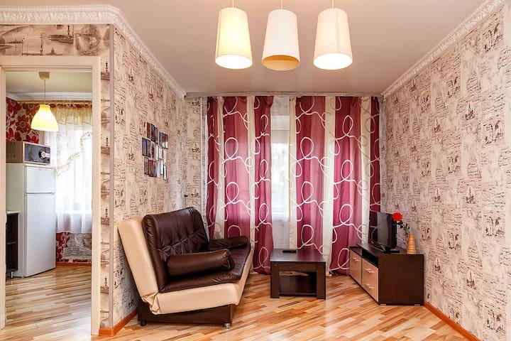 Комфортабельная 1 комнатная квартира в центре