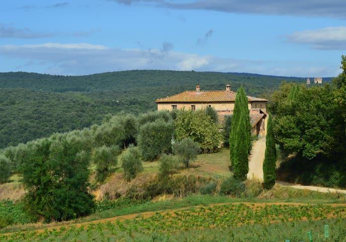 Stunning views @ Siena's doorstep - Siena - Villa