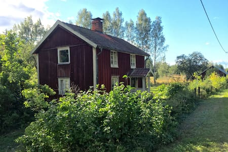 Charming cottage on country side. - Odensbacken - Zomerhuis/Cottage