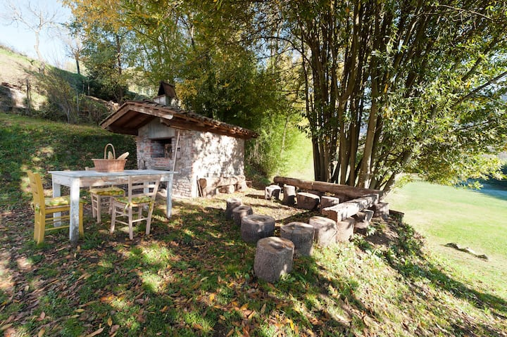 Il Melograno Nano. Double room in the nature