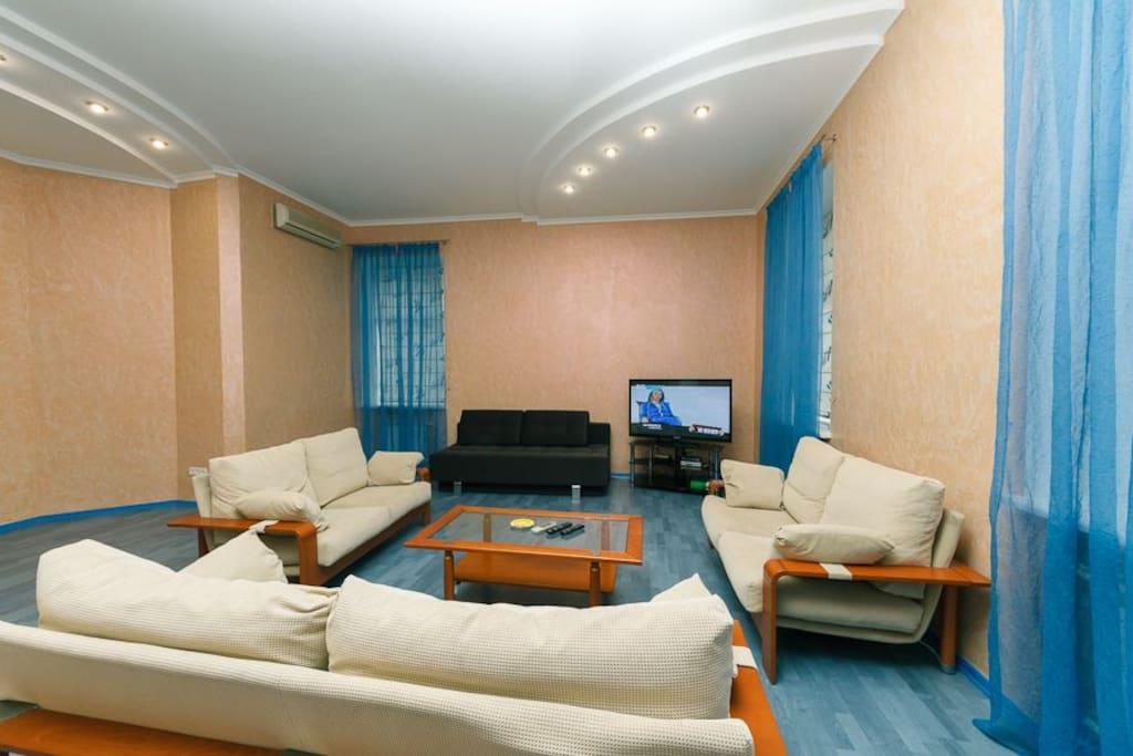 3brm VIP at Kreschatik with Sauna & Jacuzzi - Appartamenti in affitto a Kiev, Città di Kiev, Ucraina
