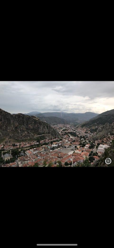 Amasya'da günlük kiralık ev