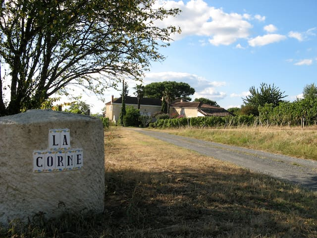 stay in a wine property with a soul - Le Pian-sur-Garonne - Hus