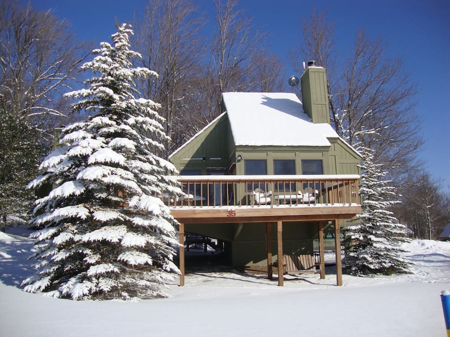 Ski chalet cabin canaan valley 35 cabins for rent in for Ski cabin rentals colorado