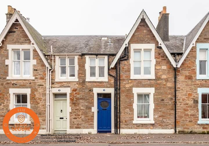 Park Place Elie | Perfect Beach Location | Parking