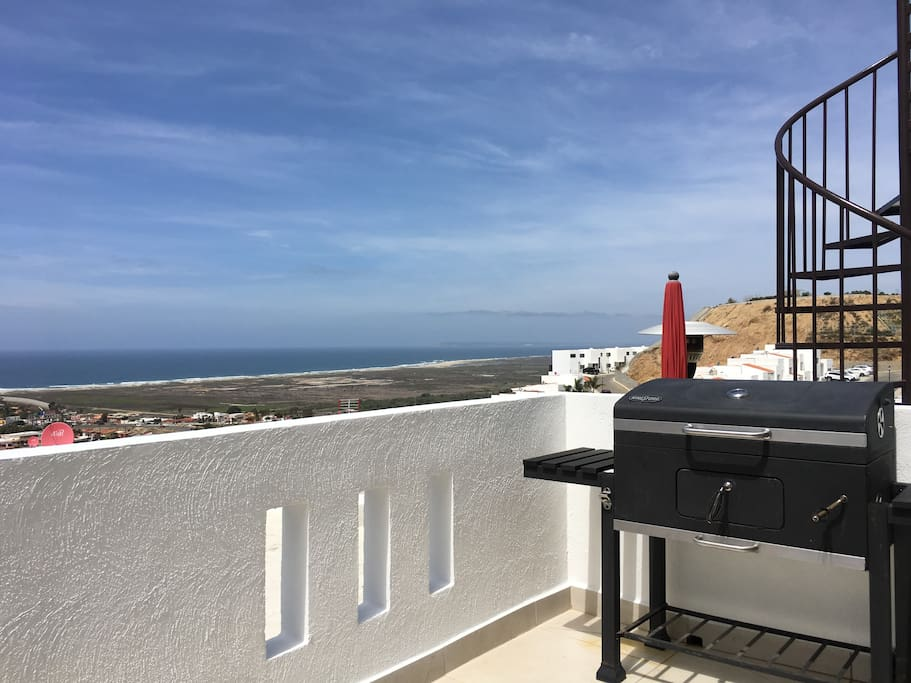 Ocean View Terrace with Grill