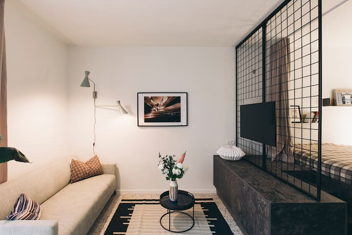 Fully furnished loft in the heart of Antwerp