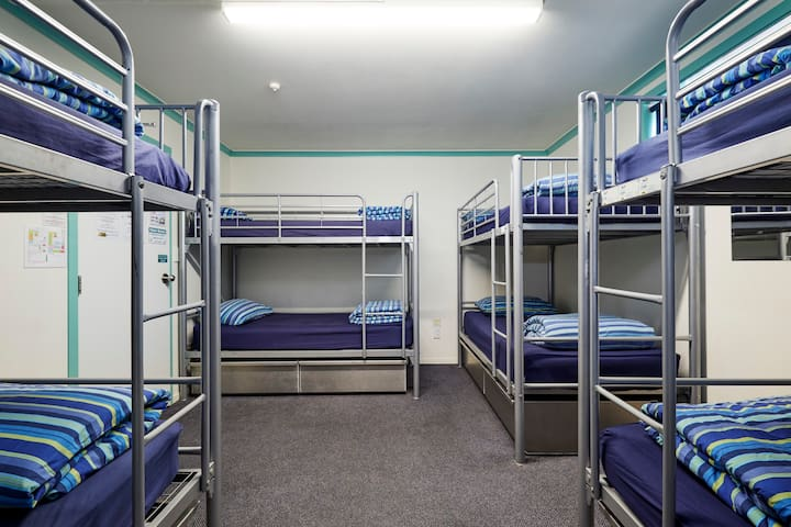 Spacious 8 Bed dorm