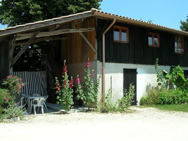 Gîte à mi-chemin entre Bordeaux et Arcachon - Mios - Apartament