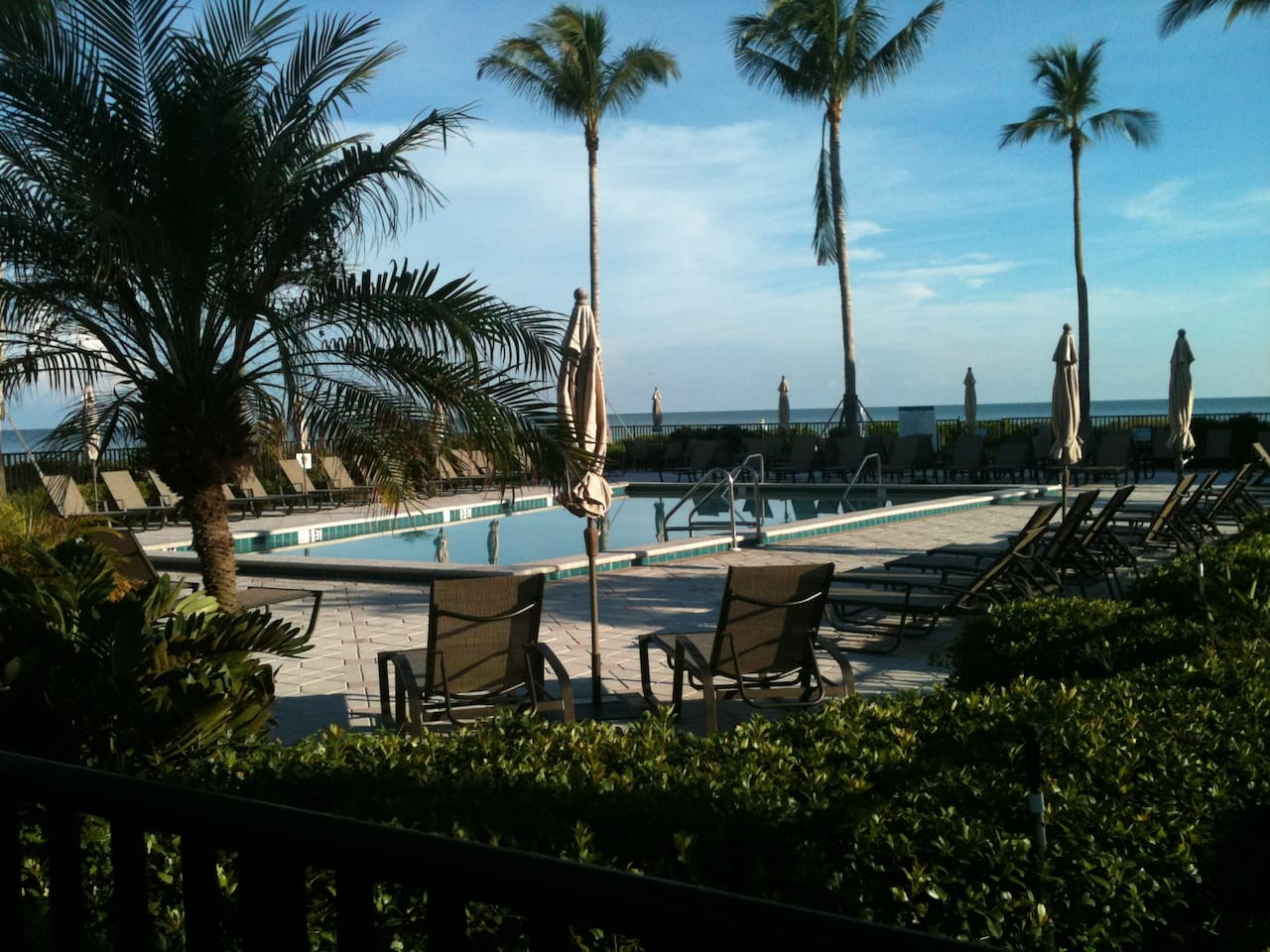 A beautiful pool by the Gulf of Mexico