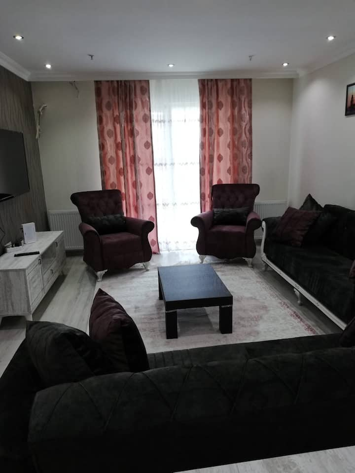 2+1 Apartment inside a compound in a central area