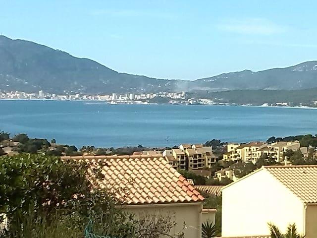 loue studio avec vue sur mer - Grosseto-Prugna - Apartment
