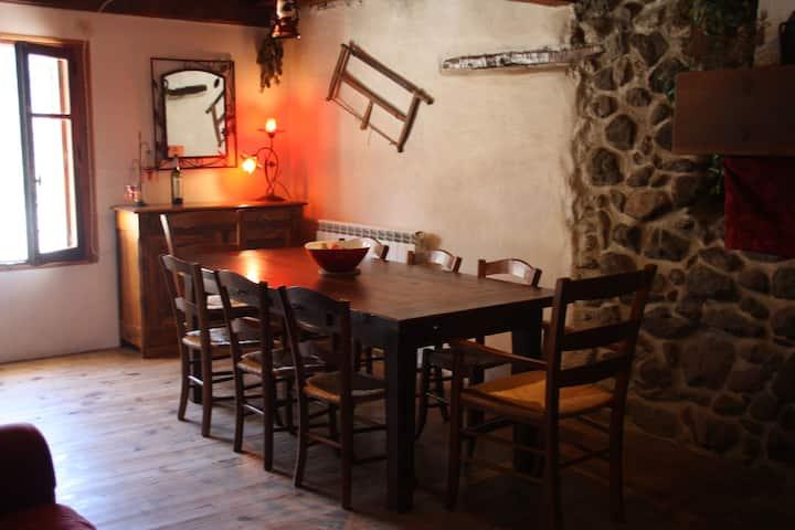 Maison, village de montagne, RANDOS SPORT NATURE.