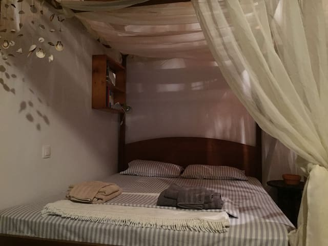 The Queen-size Canopy Bed (1)