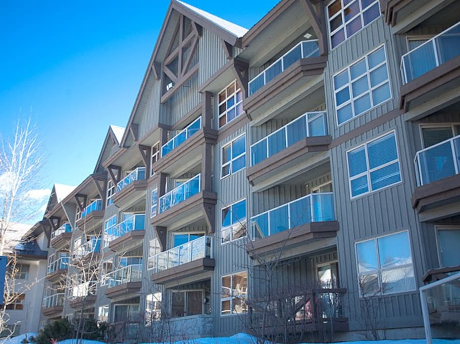 Apartment located at the Aspens hotel, serviced apartments