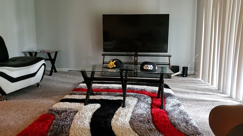 Spacious one bedroom apartment. 984 square feet