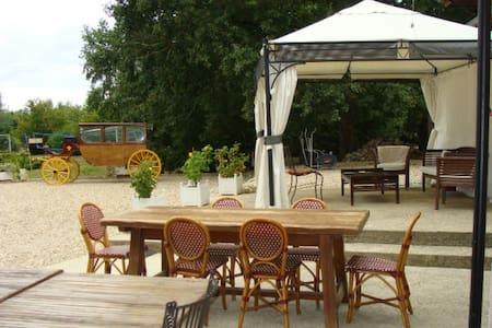 Gîte vacances anniversaires et fêtes à 1h de Paris - Courtenay