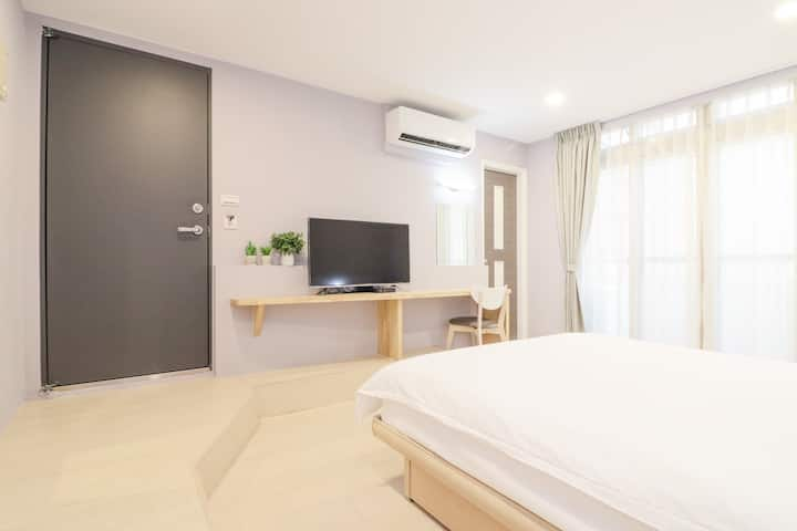 Double room L3@MRT Center Station(LINE 1 & LINE 3)