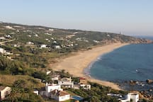 Vistas de la playa de los Alemanes/Views from the house, Germans Beach