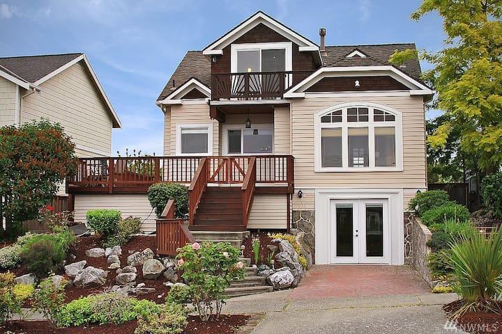 Charming, Cozy West Seattle Basement Apartment - Seattle - Huoneisto