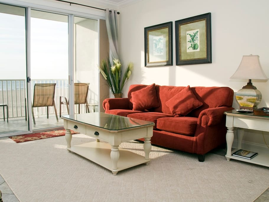 Belmont Towers, 305 - Living Room Area