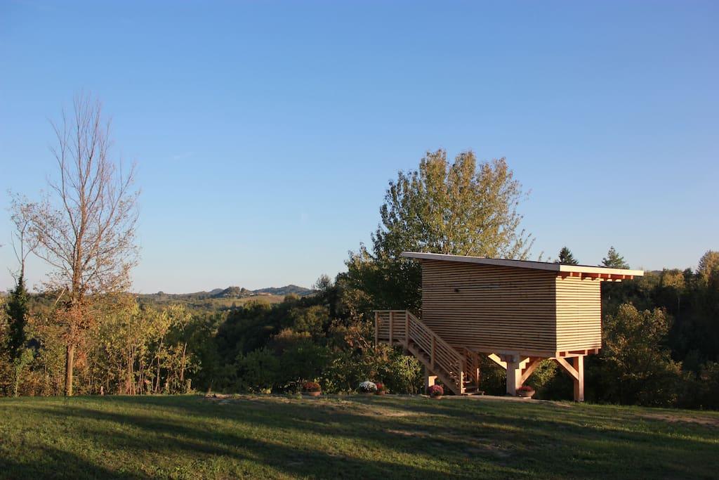 Tree house agriturismo parco del grep case sugli alberi - Airbnb casa sull albero ...